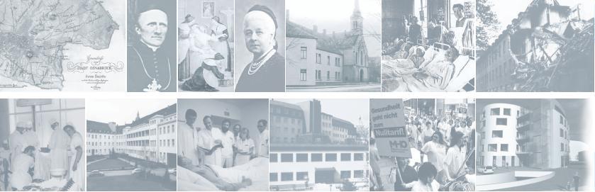 Beispielbilder aus der Geschichte des Marienhospitals Osnabrück