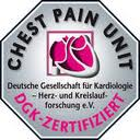 DGK-Logo der zertifizierten Chest-Pain-Unit