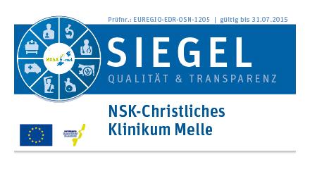 Qualitätssiegel EUR-Safeaty Healthnet